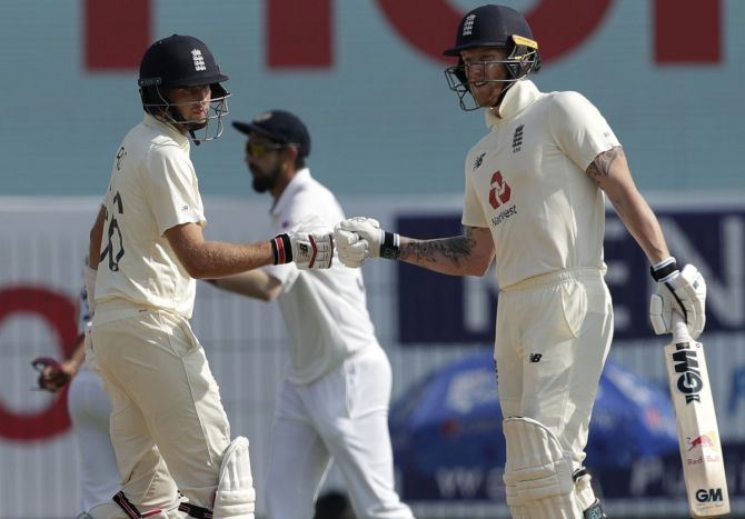Joe Root and Ben Stokes stitched up a 124-run stand for the 4th wicket