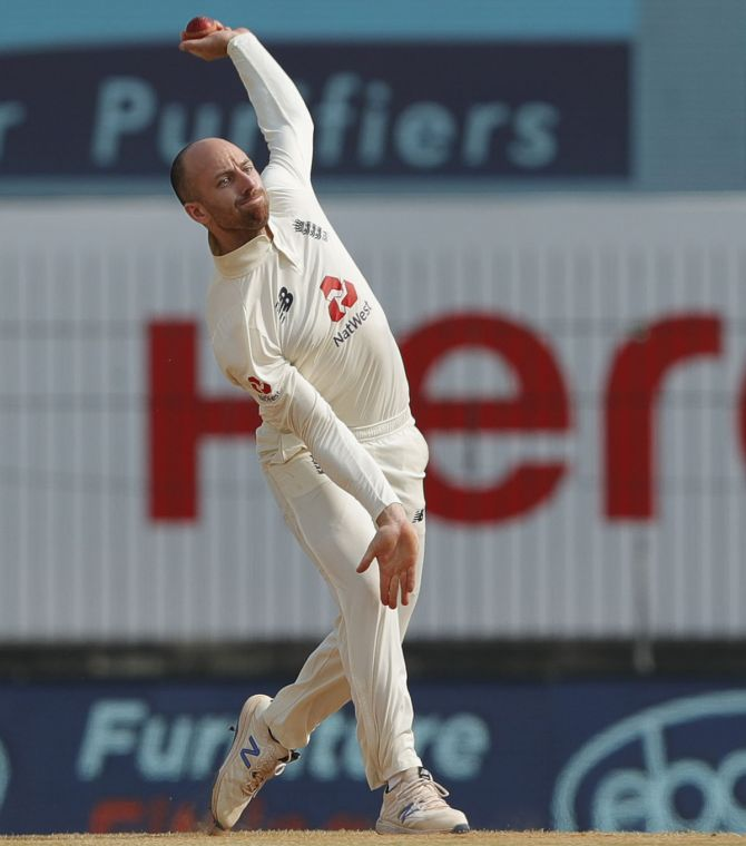 Jack Leach is up for the challenge that awaits him in the final Test and sounded confident after picking up the wickets of top four Indian batsmen in the third Test.