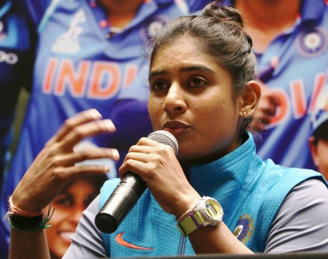 Mithali Raj will lead the Indian team in the One-dayers.