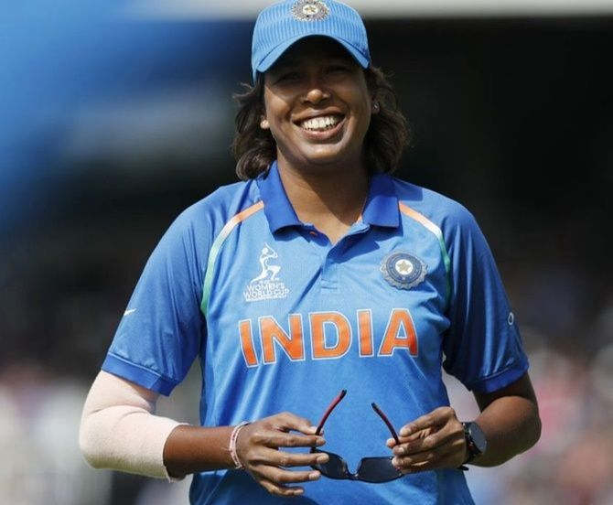 Jhulan Goswami claimed 4 for 42 on Tuesday to set up India's nine-wicket win