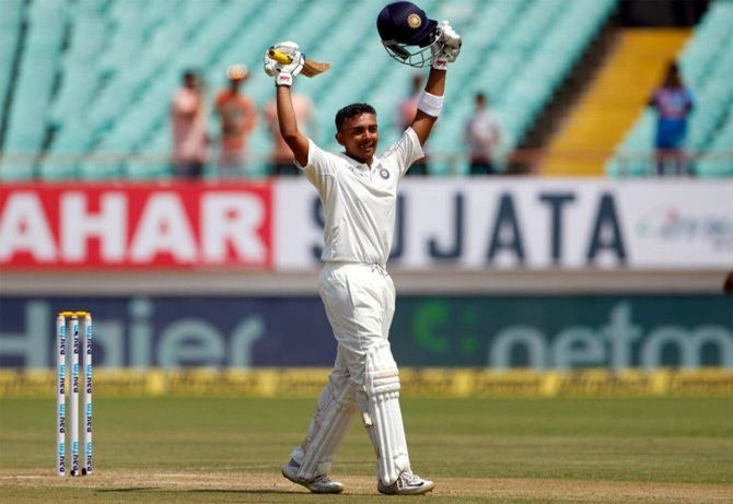 Prithvi Shaw has now scored three tons in the Vijay Hazare Trophy so far this season