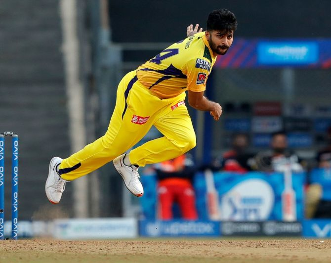 Shardul Thakur is one of the Chennai Super Kings players alongside Ravindra Jadeja and Cheteshwar Pujara who is currently with the Indian Test team in Manchester