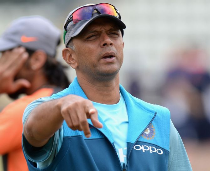 Rahul Dravid will coach the limited overs side in Sri Lanka