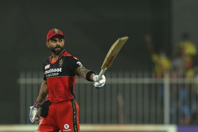 Virat Kohli has struck two half-centuries since the resumption of IPL 2021