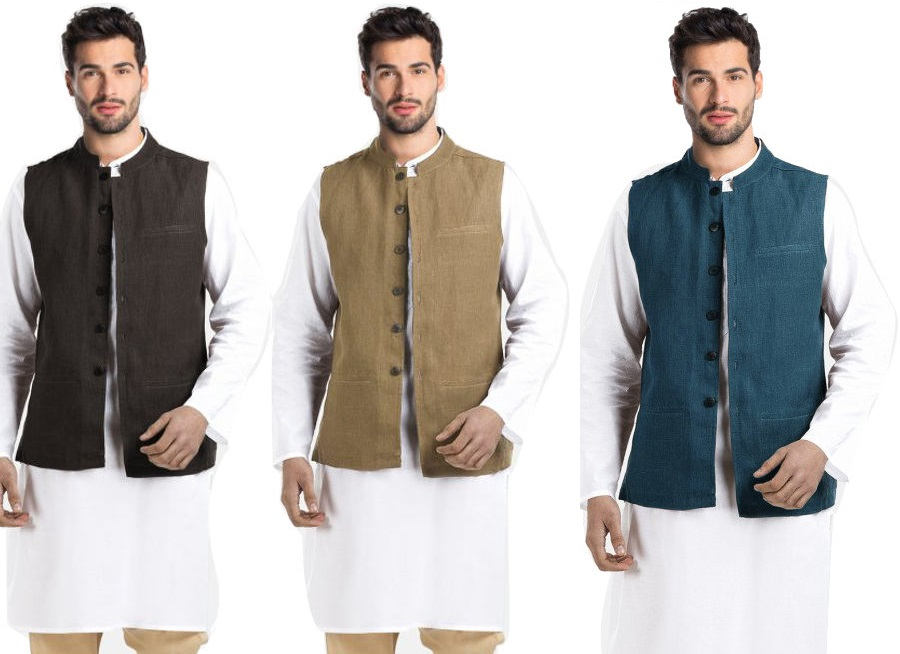 Lmfao Nehru Collar Modi Jacket