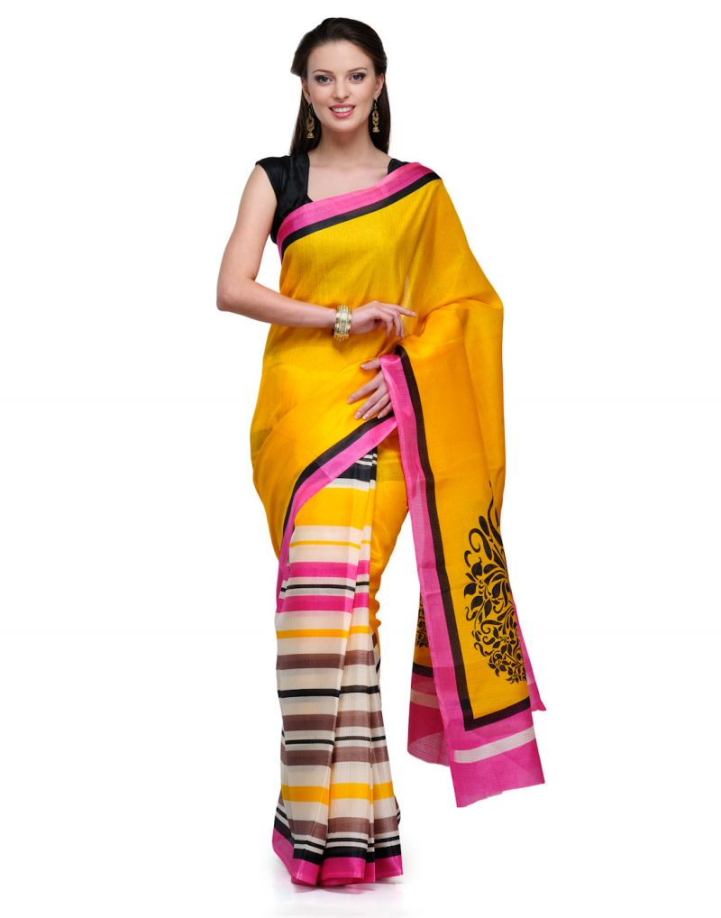 866b2f9e069642 9 Saree Materials Every Woman Should Own - Latest Fashion Trends ...