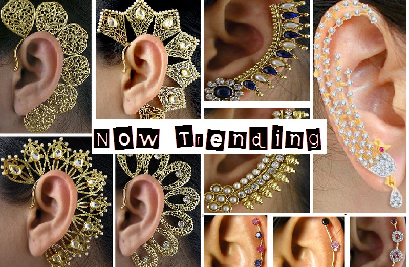 The Hottest Jewellery Trend of 2015 Gorgeous Ear Cuffs Latest