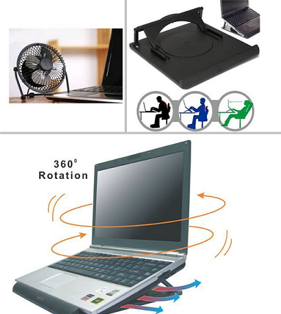Cooling pad for laptop