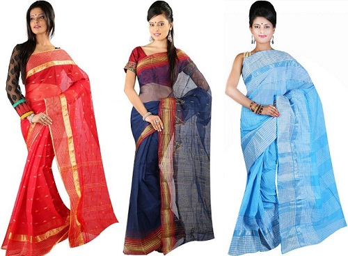 Tant cotton sarees
