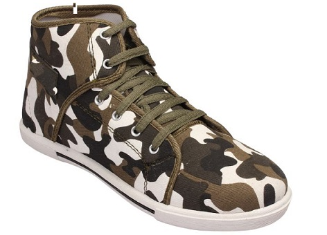Boxer Canvas Shoes For Men