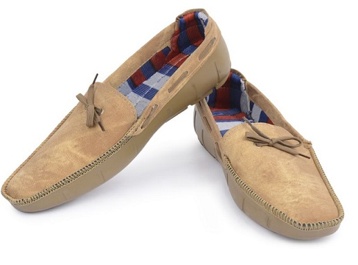 Trendy Boat Shape Loafers For Men