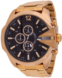 Diesel Gold Plated Watch