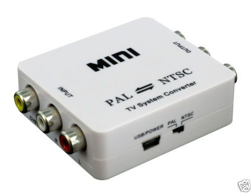PAL To NTSC Or NTSC To PAL Mutual TV Video System Converter Adapter