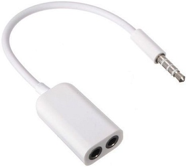 Earphone splitter