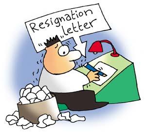 Hot, new job? Resign gracefully