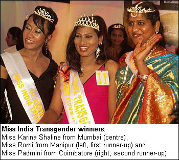 First look: Miss India Transgender contest