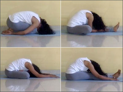 Shameem Akthar, yoga acharya trained with the Sivananda Vedanta Yoga Center, suggests four poses that will help you sleep better.