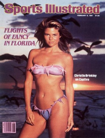 Christie was the first model ever to make three consecutive Sports Illustrated Swimsuit Issue covers