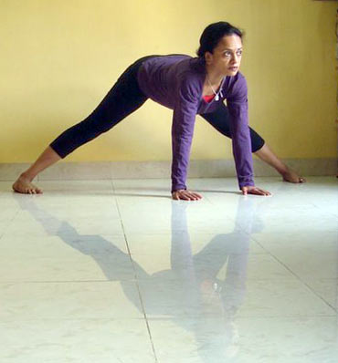 5 yoga poses to help you stay young  rediff getahead
