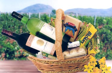 An unconventional gift hamper