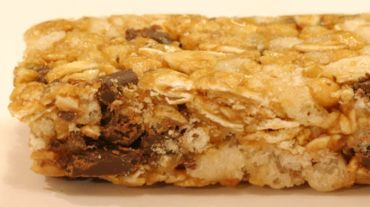 Nutrition bars are both easy to carry and tasty to eat