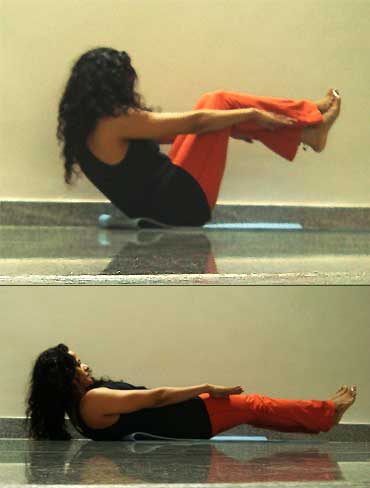 want flat toned abs try these yoga poses  rediff getahead