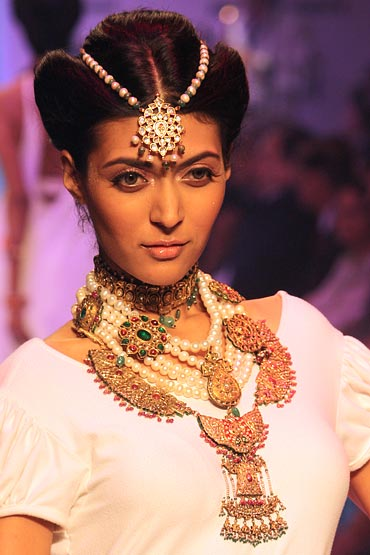 Just because you have jewellery doesn't mean you must wear all of it!