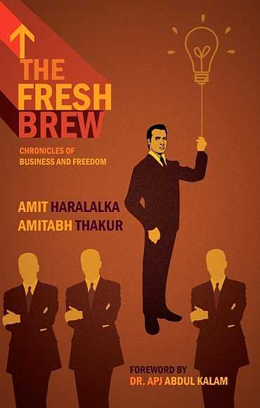 Cover of the book The Fresh Brew: Chronicles of Business And Freedom