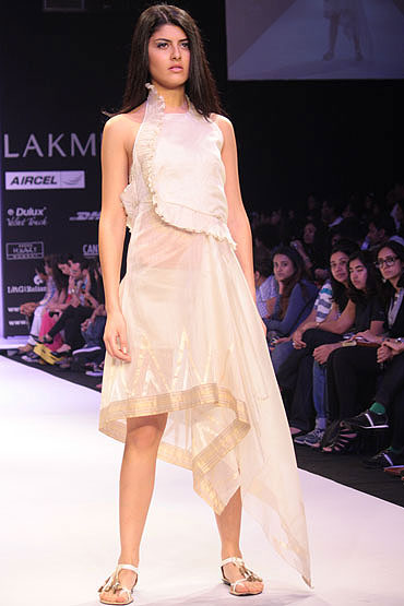Vaishali's latest collection, Virus Free, drew inspiration from childhood memories