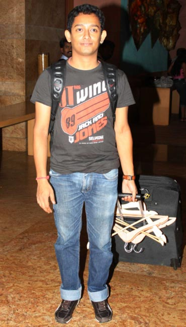 Amalraj Sengupta wheels hangers and trolleys full of his creations out of the fitting rooms