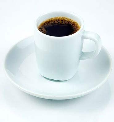 Two cups of black coffee a day should be good to help you reach your weight loss goals sooner.