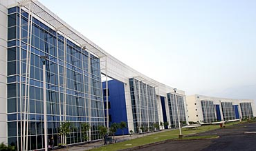A view of an IT park in Chandigarh