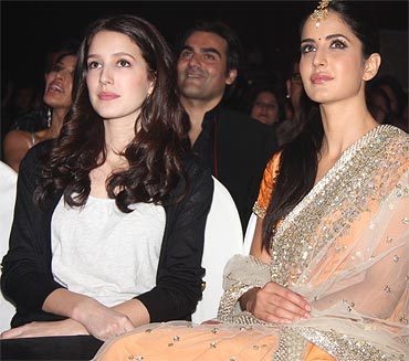 Isabel and Katrina Kaif
