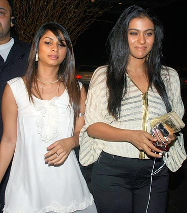 Tanisha and Kajol Mukherjee