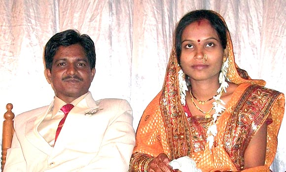 Pankaj Bhagat with his wife Swati