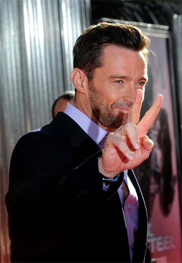 When he's not playing Wolverine, Hugh Jackman's digits are impeccably groomed