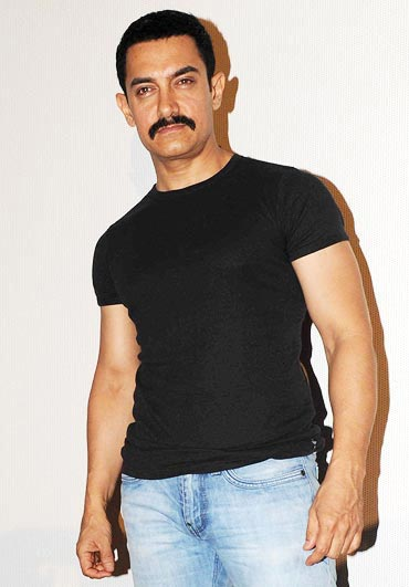 A short, neat crop like Aamir Khan's is perfect if your hair is thinning out
