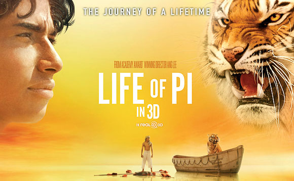 A still from the movie Life Of Pi