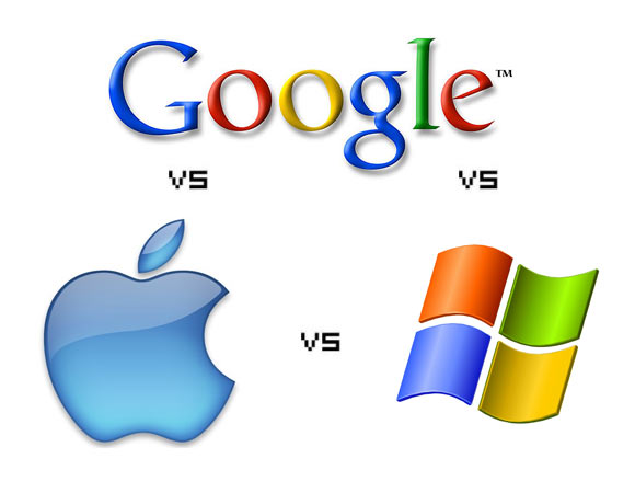 Google vs Apple vs Microsoft. It is literally the war of the worlds, but who will win it all?