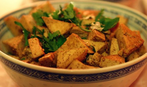 Tofu with Herbs