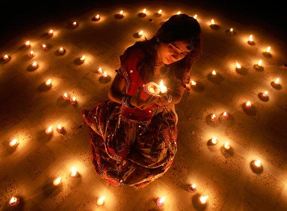 Dim lights, candles etc will create an ambience you want