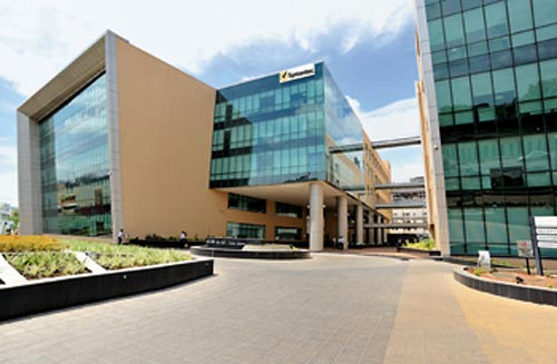 The Symantec office