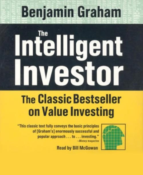 Book cover of The Intelligent Investor by Benjamin Graham