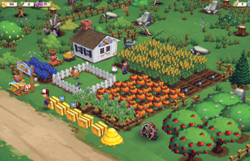 Popular social game Farmville is created by Zynga, which has an office in Bangalore