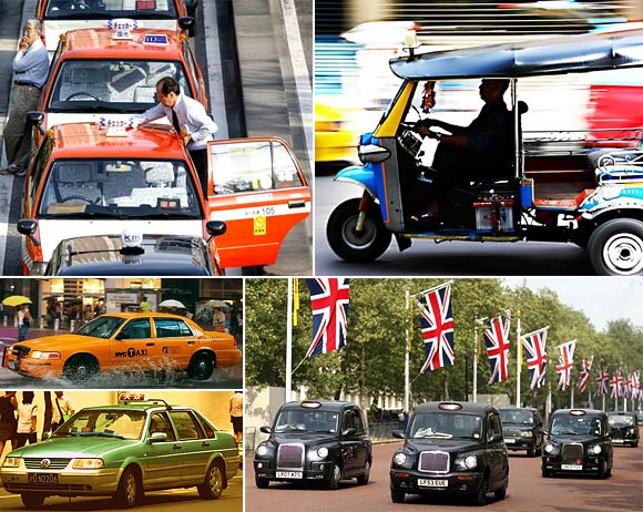 TOP 5: The best taxis in the world