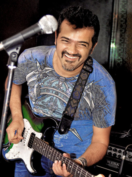 Ehsaan Noorani used to work as a session guitarist before he started composing music for films