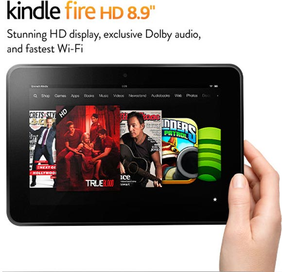 Kindle Fire HD 7-inch tablet.