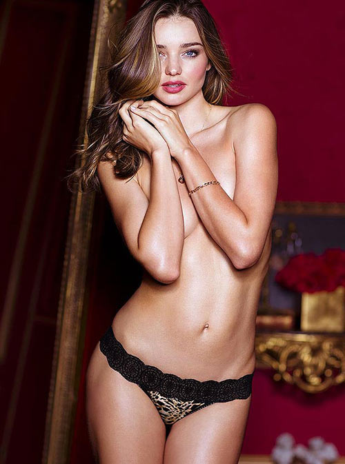 What makes Miranda Kerr drool