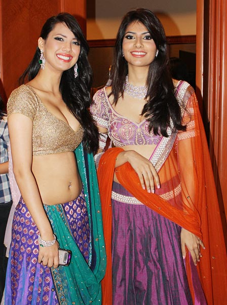 Rochelle Maria Rao and former Femina Miss India Vanya Mishra