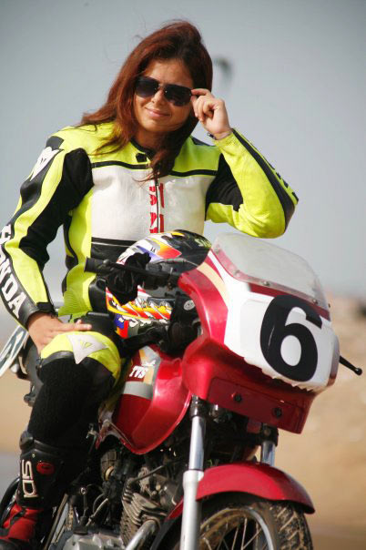 India S First And Only Woman Superbike Racer Rediff Getahead